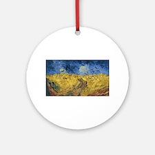 Vincent van Gogh - Wheatfield with Round Ornament