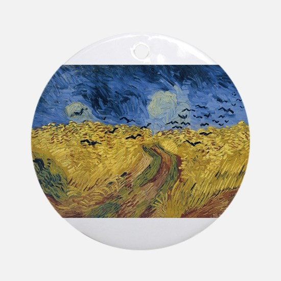 Vincent van Gogh - Wheatfield with Round Ornament