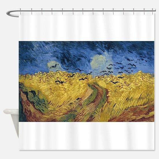 Vincent van Gogh - Wheatfield with Shower Curtain