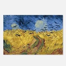 Vincent van Gogh - Wheatf Postcards (Package of 8)