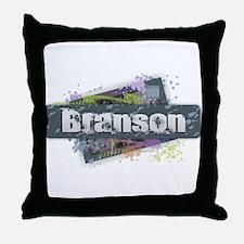 Branson Design Throw Pillow