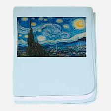 Vincent van Gogh's Starry Night baby blanket