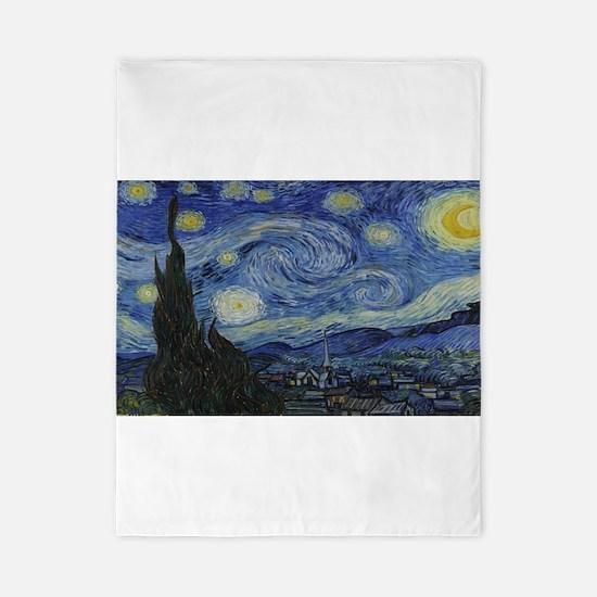 Vincent van Gogh's Starry Night Twin Duvet