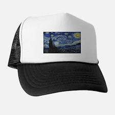Vincent van Gogh's Starry Night Trucker Hat