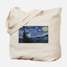 Vincent van Gogh's Starry Night Tote Bag
