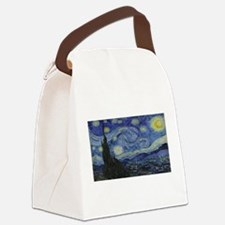 Vincent van Gogh's Starry Night Canvas Lunch Bag