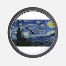Vincent van Gogh's Starry Night Wall Clock