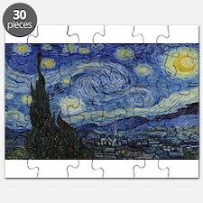 Vincent van Gogh's Starry Night Puzzle