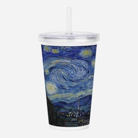 Vincent van Gogh's Sta Acrylic Double-wall Tumbler