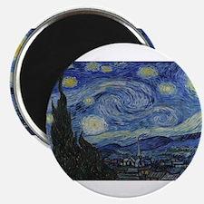 Vincent van Gogh's Starry Night Magnets