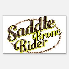 Saddle Bronc Rider Decal