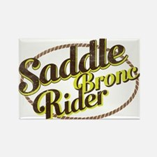 Saddle Bronc Rider Magnets