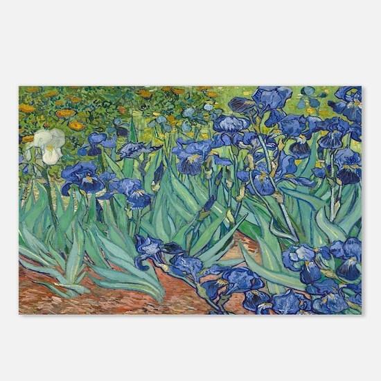 Unique Iris Postcards (Package of 8)