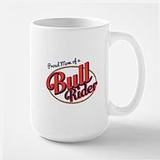Proud Mom of a Bull Rider Mugs