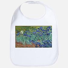 Vincent van Gogh's Irises Bib