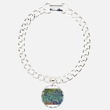 Vincent van Gogh's Irise Charm Bracelet, One Charm