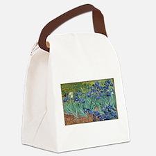 Vincent van Gogh's Irises Canvas Lunch Bag