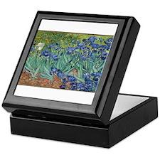 Vincent van Gogh's Irises Keepsake Box