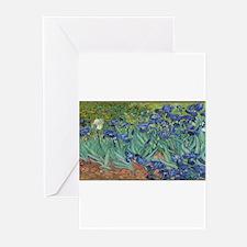 Vincent van Gogh's Irises Greeting Cards