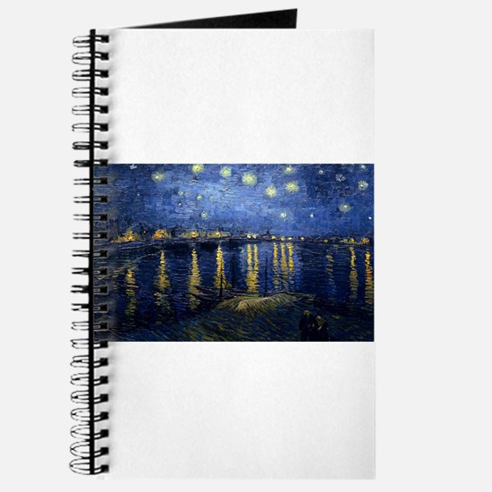 Vincent van Gogh's Starry Night Over the R Journal