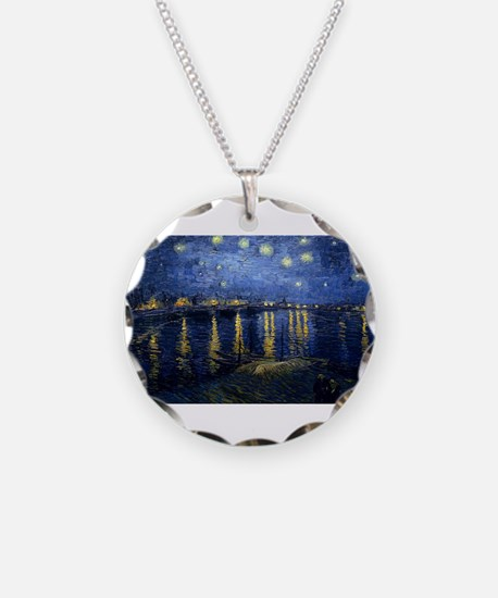 Vincent van Gogh's Starry Ni Necklace