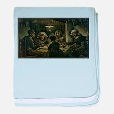 Vincent van Gogh's The Potato Eaters baby blanket