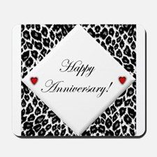 Leopard Anniversary Mousepad