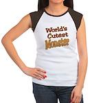 Cutest Monster Costume Women's Cap Sleeve T-Shirt