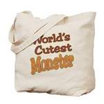 Cutest Monster Costume Tote Bag