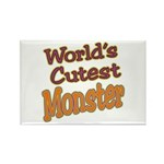 Cutest Monster Costume Rectangle Magnet