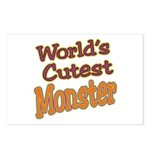 Cutest Monster Costume Postcards (Package of 8)