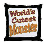 Cutest Monster Costume Throw Pillow