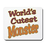Cutest Monster Costume Mousepad