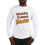Cutest Monster Costume Long Sleeve T-Shirt