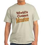 Cutest Monster Costume Light T-Shirt