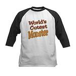 Cutest Monster Costume Kids Baseball Jersey
