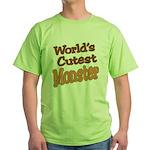 Cutest Monster Costume Green T-Shirt