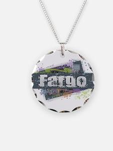 Fargo Design Necklace