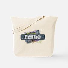 Fargo Design Tote Bag