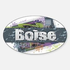 Boise Design Decal