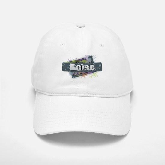 Boise Design Baseball Baseball Cap