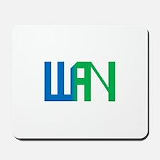 Wild Animation Network logo Mousepad