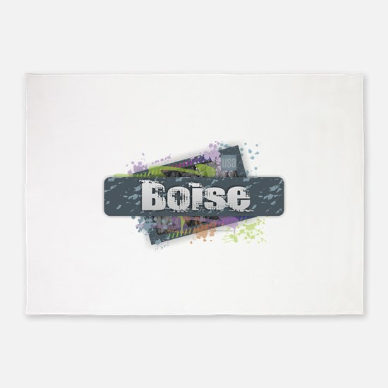 Boise Design 5'x7'Area Rug