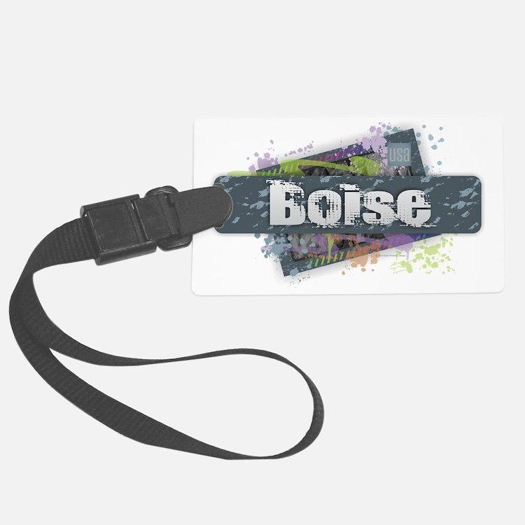 Boise Design Luggage Tag