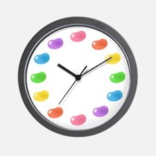 12_jelly_beans01circle.png Wall Clock