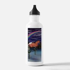 Red Dun Appaloosa Free Jumping Water Bottle