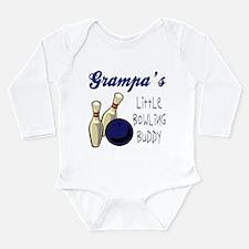 Unique Bowling buddy Long Sleeve Infant Bodysuit