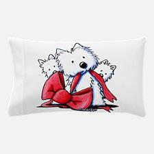 kiniart westies best Pillow Case