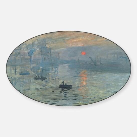 Claude Monet's Impression, Soleil Levant Decal