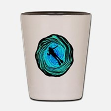 Funny Key largo Shot Glass